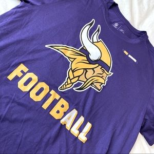 Nike Minnesota Vikings Dri-Fit Short Sleeve Tee
